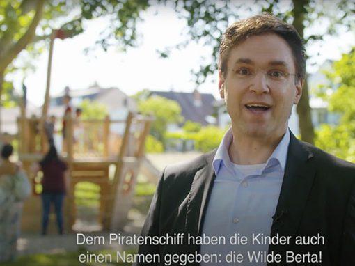 Stadt Rüsselsheim – Spielplatzeröffnung